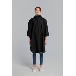 Basil Hoga poncho de pluie unisex Noir taille unique