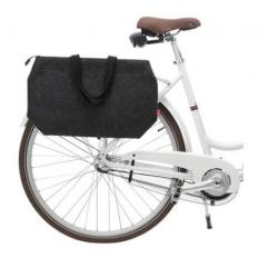 Sac cabas porte bagage avec zip - noir
